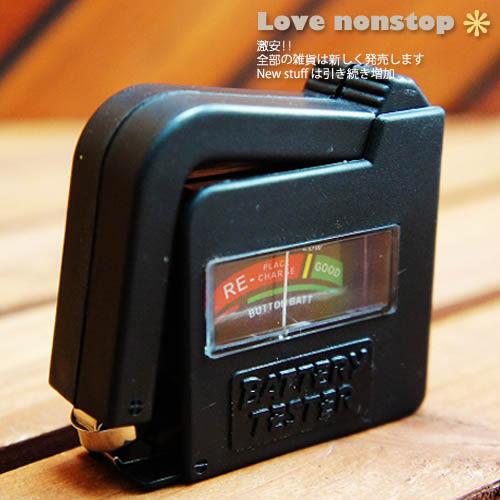 ☆樂樂購☆鐵馬星空☆小型迷你電池電壓檢測器/電池測量器*(T06-033)