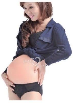 矽膠假肚子  肚皮道具 3-4個月【藍星居家】