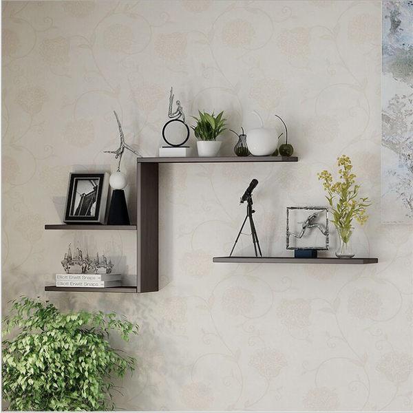 木層板 層架 60X20X2.5cm 三色 一字隔板 牆上置物架