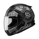 [中壢安信]SOL SF-2 SF2 DJ 消光黑銀 安全帽 全罩式安全帽 再送好禮2選1