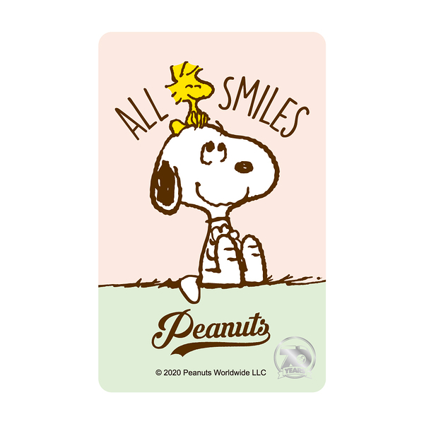 SNOOPY《70th All Smiles》一卡通