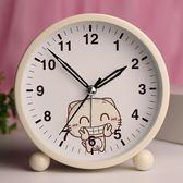 鬧鐘 鬧鐘學生兒童可愛創意卡通夜光床頭簡約臥室電子 莎瓦迪卡