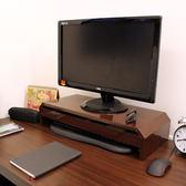[鐵板製]桌上型-抽屜-螢幕架 置物架(二色)寬58.6公分-1入/組TV520S-1