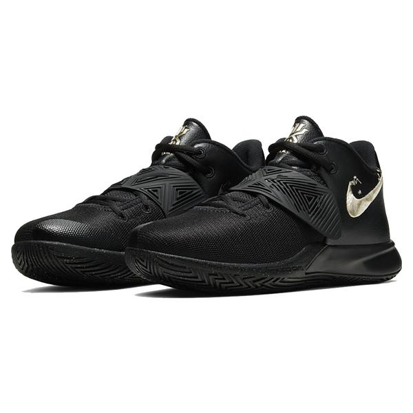 9S-Nike KYRIE FLYTRAP III EP 籃球鞋 CD0191008 刺繡 男款 黑金