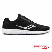 SAUCONY IDEAL 女性專屬運動生活鞋款-黑x白