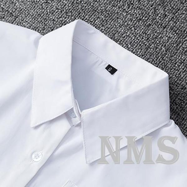 【海月社】日制基礎款白襯衫角襟丸襟百搭學生制服上衣短袖長袖女 喵小姐