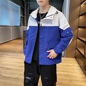 夾克2021春韓版潮流休閒外套帥氣工裝夾克男士潮牌寬鬆男外套KD6901【全館免運】