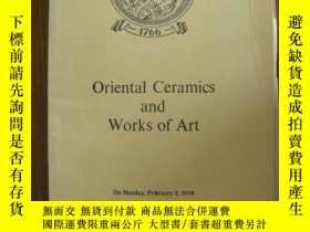 二手書博民逛書店倫敦佳士得罕見1970年2月2日 中國陶瓷藝術Y14407 倫敦