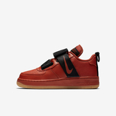 Nike Air Force 1 Utility GS [AJ6601-600] 大童鞋 休閒 搭扣 質感 穿搭 紅黑