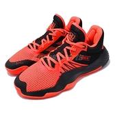 adidas 籃球鞋 D.O.N. Issue 1 GCA 橘 黑 男鞋 蜘蛛人 Marvel 運動鞋 【ACS】 EF9961