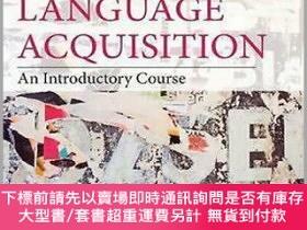 二手書博民逛書店Second罕見Language Acquisition: An Introductory Course 4th