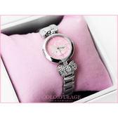 Hello Kitty凱蒂貓原廠公司貨 滿鑽俏麗蝴蝶結手錶 禮物.收藏 柒彩年代【NE834】LK601L