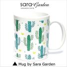 客製 手作 彩繪 馬克杯 Mug 水彩 漸層 可愛 仙人掌掌 咖啡杯 陶瓷杯 杯子 杯具 牛奶杯 茶杯