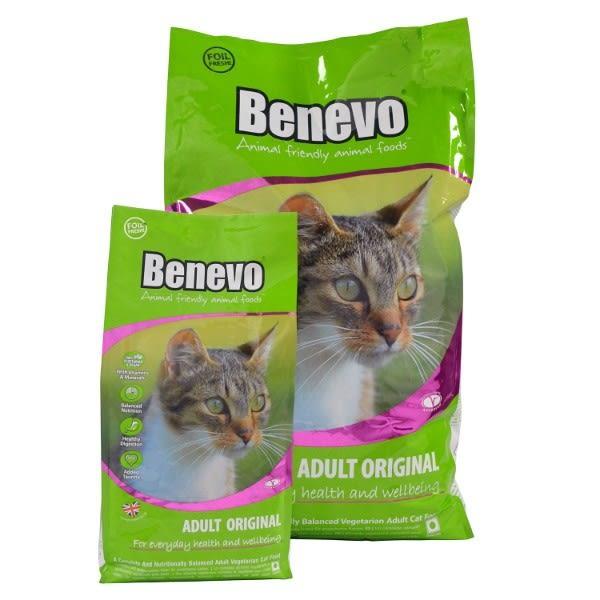 英國Benevo機能性純素貓糧2kg 頂級素食寵物飼料 ★Vegan 含植物源牛磺酸 螺旋藻 全素營養配方