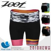 Zoot  超低水阻彈力布印花4吋肌能鐵人短褲(女) TEAM / S83 / Aloha
