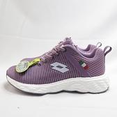 LOTTO TRON 創跑鞋 慢跑鞋 女款 超輕量 透氣蜂巢鞋墊 LT1AWR3517 紫【iSport愛運動】