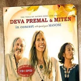 經典數位~德娃與米頓 - 音樂會 / Deva Premal & Miten - In Concert (CD+DVD)