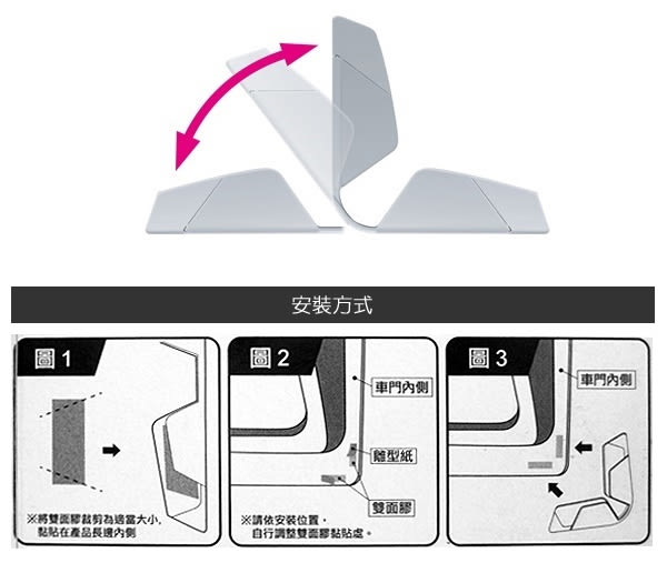 【愛車族購物網】G-SPEED 碳纖維車門護片-4入