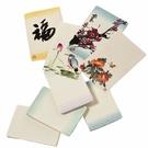 泰和宣 手染和紙系列 PCUL-1143 手工艾綠色和紙明信片 10張 / 包