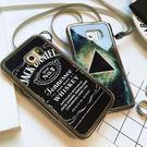 【紅荳屋】電鍍三角三星note3/note4/note5/S6edge電鍍鏡面金屬矽膠手機殼