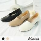 跟鞋 方頭素面跟鞋 MA女鞋 T72501
