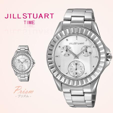 JILL STUART方晶鋯石時尚銀腕錶 都會上班新女性手錶 柒彩年代【NE1016】原廠公司貨