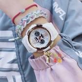 電子錶 小天使電子手錶女ins風簡約氣質高中學生兒童錶防水防摔鬧鐘 5色
