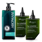 Aromase艾瑪絲 煥髮重生頭皮洗髮組(豐盈400mL+HC 260mLx2)