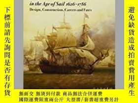 二手書博民逛書店French罕見Warships in the Age of Sail 1626 – 1786 (damaged)