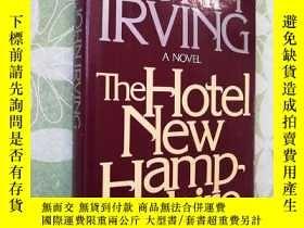 二手書博民逛書店【英文原版】毛邊本罕見《THE HOTEL NEW HAMP S