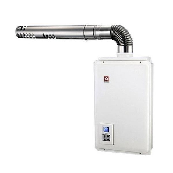 【南紡購物中心】櫻花【H-1680L】16公升強制排氣熱水器桶裝瓦斯