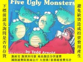 二手書博民逛書店five罕見ugly monstersY283241