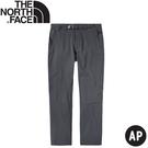 【The North Face 男 軟殼長褲《瀝灰》】4NCP/防潑水長褲/休閒長褲/戶外長褲