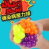 傳染病原體 紓壓球 密集恐懼症 葡萄球 愚人節整人玩具紓壓宣洩【RS585】