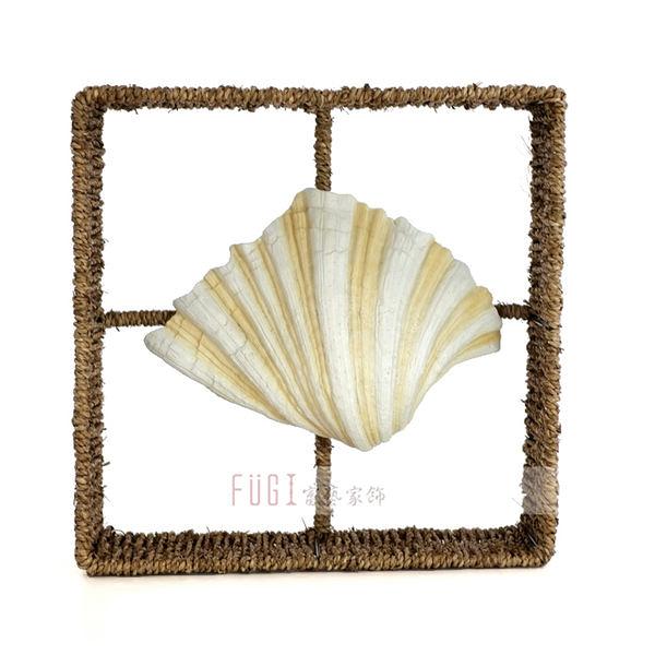 【富藝家飾】貝殼壁掛飾品 傢飾品 餐廳裝飾品  居家裝飾品 牆壁裝飾品