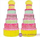 【大堂人本】JY63- 十二尺全飲料罐頭塔(850瓶)