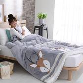超激厚法蘭絨暖暖被 小鹿斑比 台灣製 150x200cm 重2.5kg 防靜電 不掉毛 毯被 附收納袋 Best寢飾