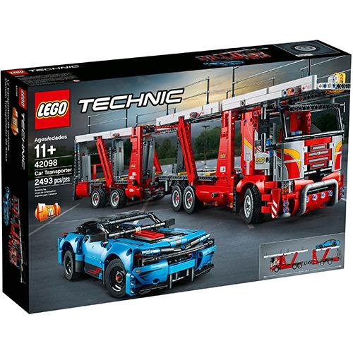樂高積木 LEGO 2019《 LT42098 》科技 Technic 系列 -汽車運輸車╭★ JOYBUS玩具百貨
