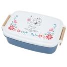 小禮堂 神奇寶貝 日製 方形微波便當盒 雙扣便當盒 塑膠便當盒 保鮮盒 530ml (白藍 兩隻) 4991277-29520