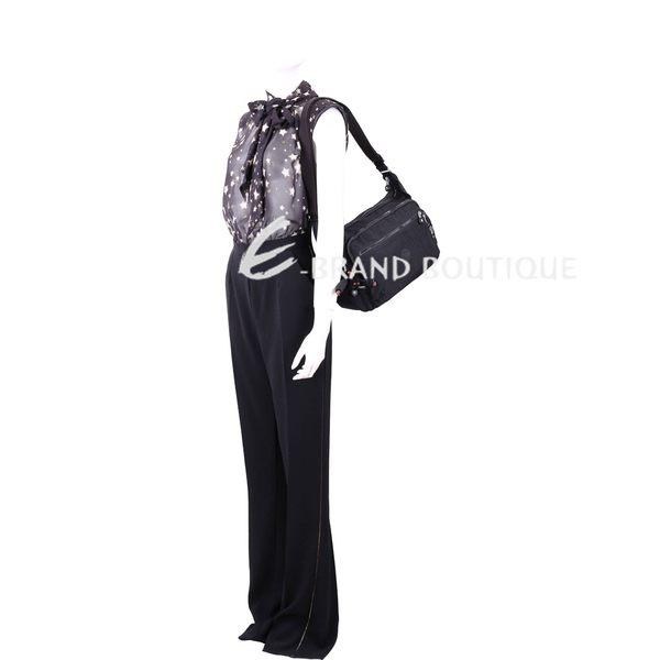 Kipling Gabbie S K15255 輕巧尼龍側背包(黑色) 1830206-01