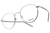 CARIN 光學眼鏡 LENNON C2 (銀-透灰) 韓星秀智代言 知性圓框造型款 # 金橘眼鏡