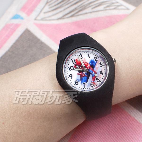 Disney 迪士尼 時尚卡通手錶 漫威 蜘蛛人 兒童手錶 數字女錶 男錶 黑色 U3-6036