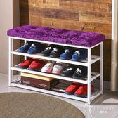 經濟型防塵收納架子多層組裝簡約現代鞋柜