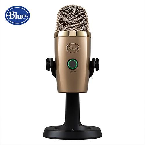 【敦煌樂器】Blue Yeti Nano 小雪怪 USB 麥克風 古巴金 台灣公司貨 享兩年保固