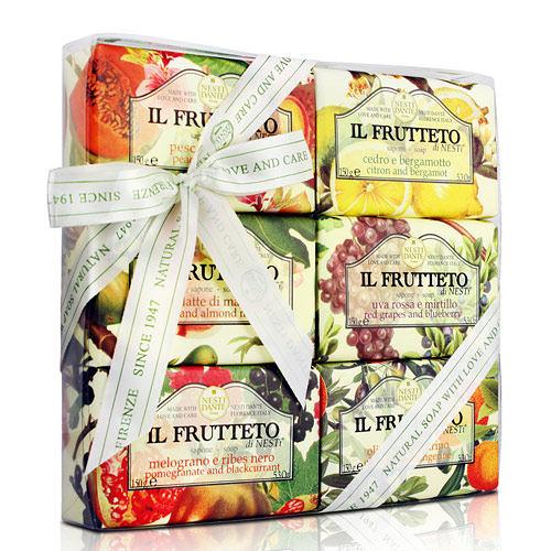 Nesti Dante  義大利手工皂-天然鮮果禮盒(150g×6入)【ZZshopping購物網】