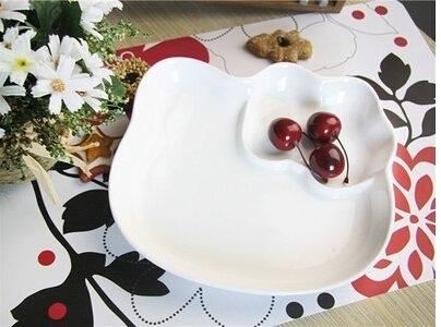 點心盤 KITTY造型水果盤子 陶瓷餐具