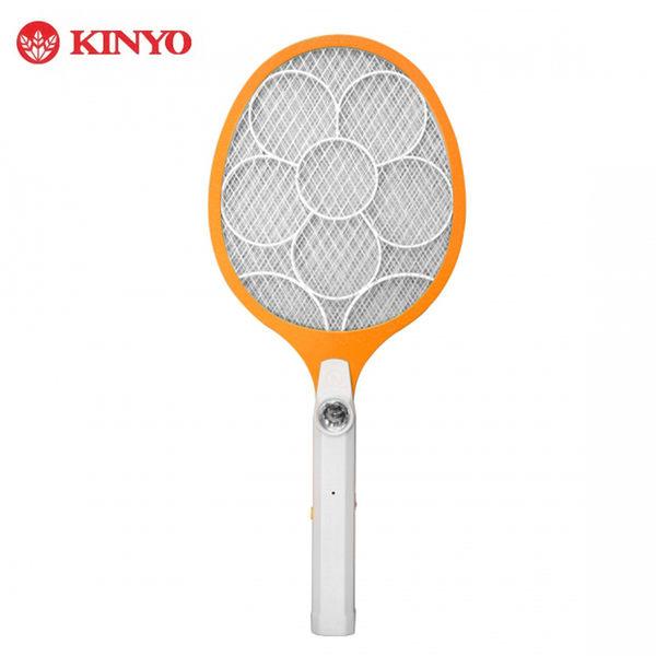 KINYO 大網面分離式充電捕蚊拍