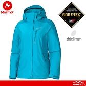 【Marmot 美國 女 Palisades兩件式外套《淺青深青》】357502538/GORE-TEX/刷毛內裡/防水/限量款