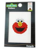 【卡漫城】芝麻街 鑽石貼紙 ㊣版 Sesame Street Elmo 壓克力 造型貼鑽 晶鑽貼