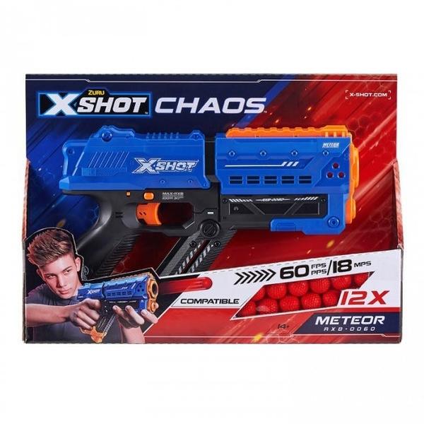 《 X-SHOT 》X射手CHAOS-12發射擊組 / JOYBUS玩具百貨